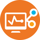 Computer sharing icon